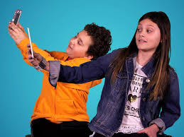 kids show us how to take a selfie business insider