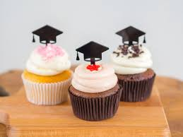 college graduation centerpieces cupcake toppers college graduation high school graduation