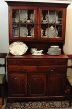 2 Piece China Cabinet Rare Antique Chippendale Ball U0026 Claw Foot Mahogany China Cabinet