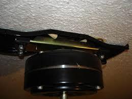Ceiling Fan Brackets by Removing A Hampton Bay Ceiling Fan
