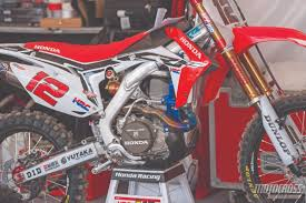 motocross race bikes for sale motocross action magazine everything about the crf450 from the