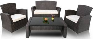 canapé de jardin en résine tressée nettoyer salon de jardin en résine tressée tout pratique