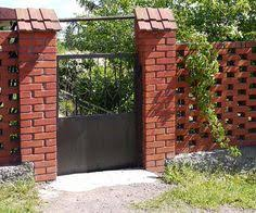 Home And Garden DIY Ideas Photos And Answers Brick Fence Grey - Brick wall fence designs