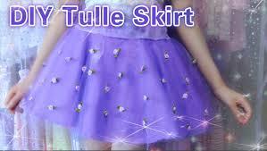 how to make a tulle skirt diy easy tulle skirt