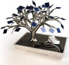 jetson green solar cell tree charger for the home
