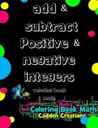 add subtract positive u0026 negative integers maths fun integers