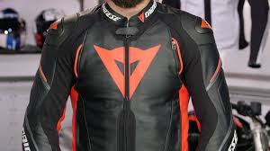 racing biker jacket dainese super speed d1 leather jacket review at revzilla com youtube