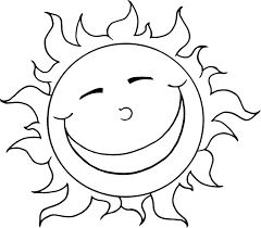 sun coloring pages to download and print for free шаблони