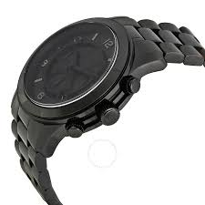 amazon black friday deals for perfume michael kor michael kors blacked out runway chronograph men u0027s watch mk8157
