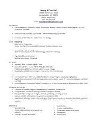 Sample Resume For Medical Laboratory Technician by Enjoyable Medical Technologist Resume 3 Laboratory Technician