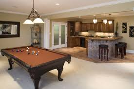Basement Game Rooms Gorgeous Basement Design With Game Room Layout Combined Snooker