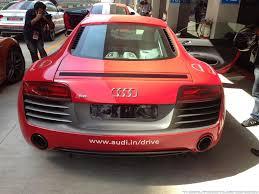 audi r8 starting price audi launches r8 starting price rs 1 34 crores
