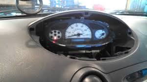 check engine light bulb burned out dash bulb replacement instrument cluster 2000 toyota echo removal
