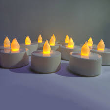 24pcs flicker votive candle battery operated led tea light