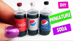 5 minute crafts diy miniature realistic cola soda pop