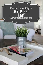 fram house easy diy wood serving tray farmhouse style trays
