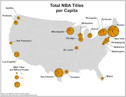 map of nba teams creative class archive is the geography of nba dominance