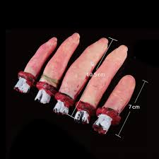 halloween life size 2017 wholesale lifesize bloody human fingers dead body parts party
