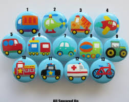 themed knobs transportation knobs etsy