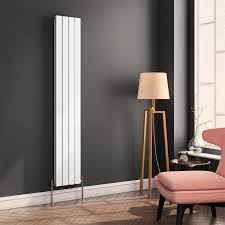 Designer Kitchen Radiators Rnd Fl184w Pv Reina Flat Panel Vertical Designer Radiator