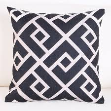 greek key home decor black white greek key home decor geometric cushion cover chic