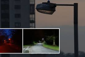 who to call when street lights are out our world is street lights going out at night switched on thinking