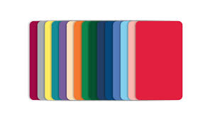 blank color pvc cards cr80 30mil