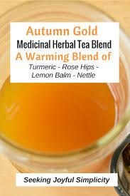 Seeking Tea Autumn Gold Tea Blend Make Your Own Nourishing Herbal Infusion