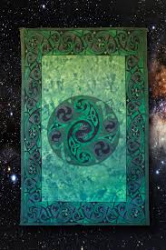 slytherin much green snakes tapestry this is perfect for your