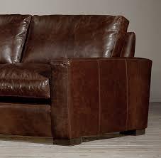 Leather Sleeper Sofa Maxwell Leather Sofa 8ft 3225 Petite 96