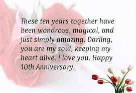 10th year wedding anniversary year wedding anniversary