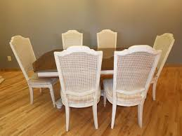 ethan allen table chairs ethan allen dining table with 6 chairs marva s placemarva s place