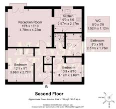 Floor Plan Scale Calculator by 2 Bedroom Flat For Sale In Hassocks