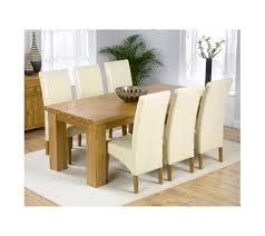 20 best collection of cream and oak dining tables dining room ideas