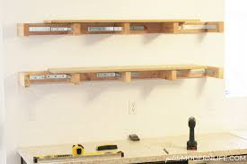 Plans For Wooden Shelf Brackets by Petite Modern Life Heavy Duty Floating Shelves Petite Modern Life