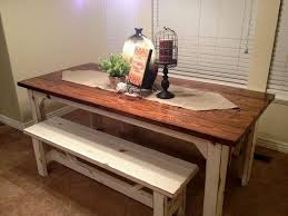 rustic farmhouse table u2013 table gallery