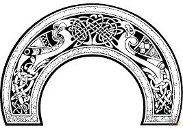 celtic design coloring page free printable coloring pages