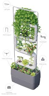 supragarden hydroponic green wall system kits up to 4 plantsteps