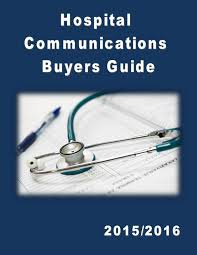 hospital communications buyers guide v i by federal buyers guide