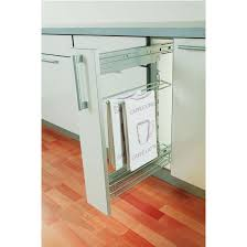 Kitchen Cabinet Organizers Basket  Towel Holder Sets For The - Kitchen cabinet towel rack