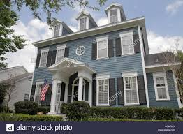 Colonial Style House by Orlando Kissimmee Orlando Florida Celebration Planned Community