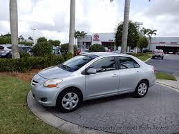 2008 used toyota yaris 3dr hatchback manual at royal palm mazda