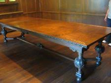 Antique Boardroom Table Oak Dining Table Antique Furniture Ebay