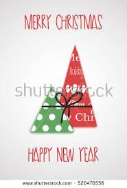 merry happy new year vector stock vector 522211714