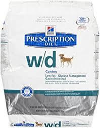 amazon com hills w d low fat diabetic gi health dog food 27 5 lb