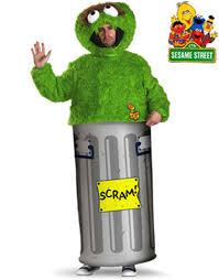 Light Bulb Halloween Costume Oscar The Grouch Halloween Costume Walmart Com
