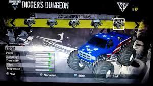 bigfoot monster truck game monster jam customs iron man wolverine spider man bigfoot