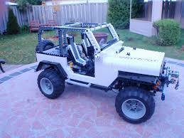jeep lego moc jeep wrangler