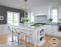kitchen with gray paint color contemporary kitchen benjamin