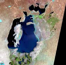 Satellite Map Of Florida by Aral Sea Kazakhstan And Uzbekistan Earthshots Satellite Images